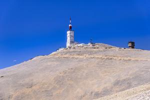 France, Provence, Vaucluse, Malauc?ne, Mont Ventoux, Summit with Transmitting Station by Udo Siebig