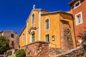 France, Provence, Vaucluse, Roussillon, Old Town by Udo Siebig