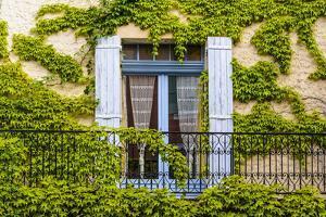 France, Provence, Vaucluse, Saint-Saturnin-L?s-Apt, Architecture Detail by Udo Siebig