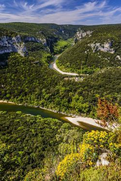 France, Rh™ne-Alpes, Ard?che, Saint-Martin-D'Ard?che, Gorges De L'Ard?che,  by Udo Siebig
