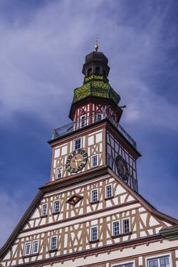 Germany, Baden-Wurttemberg, Metropolregion Stuttgart, Kirchheim Unter Teck, City Hall by Udo Siebig