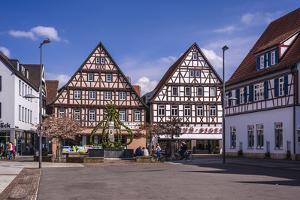 Germany, Baden-Wurttemberg, Metropolregion Stuttgart, Kirchheim Unter Teck, Marketplace by Udo Siebig