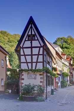 Germany, Baden Wurttemberg, Odenwald (Region), Bergstra§e (Region), Weinheim (Town by Udo Siebig