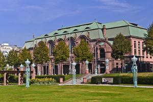 Germany, Baden-Wurttemberg, Rhein-Neckar Region, Mannheim, Friedrichsplatz (Square by Udo Siebig