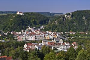 Germany, Bavaria, Lower Bavaria, AltmŸhltal (Valley), Riedenburg, City Overview by Udo Siebig