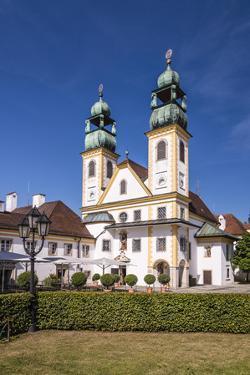 Germany, Bavaria, Lower Bavaria, Donau-Inn, Passau, Abbey and Pilgrimage Church Mariahilf by Udo Siebig