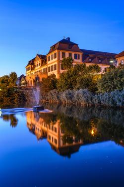Germany, Bavaria, Lower Franconia, 'FrŠnkisches Saaletal' (Saale Valley), Hammelburg by Udo Siebig