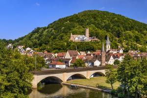 Germany, Bavaria, Lower Franconia, Main-Franconia, 'GemŸnden Am Main' by Udo Siebig