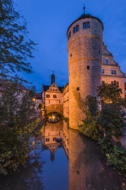 Germany, Bavaria, Lower Franconia, Mainfranken, Market-Broadly by Udo Siebig