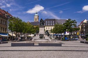 Germany, Bavaria, Lower Franconia, Mainfranken, Schweinfurt by Udo Siebig