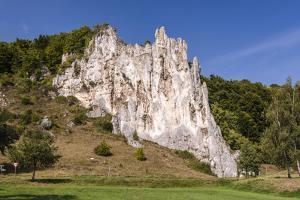 Germany, Bavaria, Upper Bavaria, AltmŸhltal (Valley), Wellheim by Udo Siebig