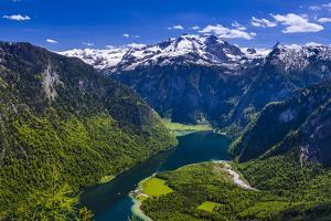 Germany, Bavaria, Upper Bavaria, Berchtesgadener Land (District), National Park Berchtesgaden by Udo Siebig