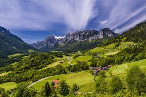 Germany, Bavaria, Upper Bavaria, Berchtesgadener Land (District), Ramsau Near Berchtesgaden by Udo Siebig