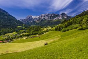 Germany, Bavaria, Upper Bavaria, Berchtesgadener Land, Ramsau Near Berchtesgaden by Udo Siebig