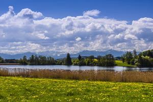 Germany, Bavaria, Upper Bavaria, FŸnfseenland, Nut Mountain by Udo Siebig