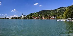 Germany, Bavaria, Upper Bavaria, Mangfall (Mountain Range), Schliersee (Village by Udo Siebig