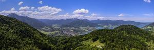 Germany, Bavaria, Upper Bavaria, Mangfall (Mountain Range), Tegernsee (Lake by Udo Siebig