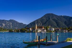 Germany, Bavaria, Upper Bavaria, Mangfall, Tegernsee by Udo Siebig