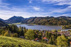 Germany, Bavaria, Upper Bavaria, Mangfallgebirge, Parish of Schliersee by Udo Siebig
