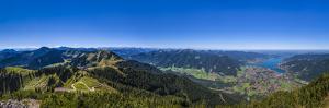 Germany, Bavaria, Upper Bavaria, Mangfallgebirge, Tegernsee Valley by Udo Siebig