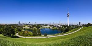 Germany, Bavaria, Upper Bavaria, Munich, Olympic Grounds by Udo Siebig