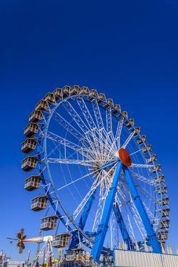 Germany, Bavaria, Upper Bavaria, Munich, Theresienwiese, Oktoberfest, Big Wheel by Udo Siebig