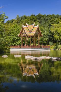 Germany, Bavaria, Upper Bavaria, Munich, West Park, Thai Sala by Udo Siebig