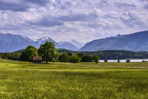 Germany, Bavaria, Upper Bavaria, Pfaffenwinkel (Region), Uffing by Udo Siebig