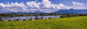 Germany, Bavaria, Upper Bavaria, Pfaffenwinkel, Riegsee Lake by Udo Siebig