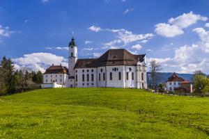 Germany, Bavaria, Upper Bavaria, Pfaffenwinkel, Steingaden by Udo Siebig