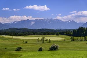 Germany, Bavaria, Upper Bavaria, Pfaffenwinkel, Uffing at Lake Staffelsee by Udo Siebig