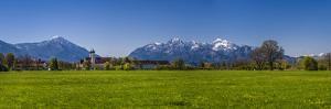 Germany, Bavaria, Upper Bavaria, Tšlzer Land (Area), Benediktbeuern by Udo Siebig