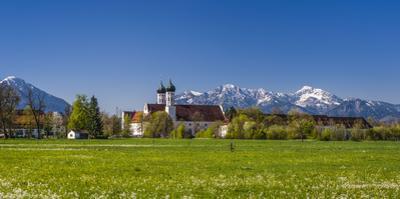 Germany, Bavaria, Upper Bavaria, Tšlzer Land (Area), Benediktbeuern