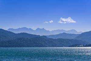 Germany, Bavaria, Upper Bavaria, Tšlzer Land (Area), Region of Kochelsee-Walchensee (Lakes by Udo Siebig