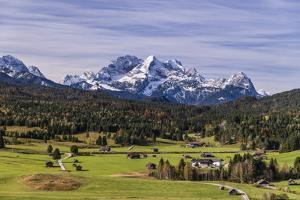 Germany, Bavaria, Upper Bavaria, Werdenfelser Land, Alpenwelt Karwendel by Udo Siebig