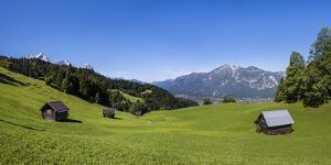 Germany, Bavaria, Upper Bavaria, Werdenfelser Land (Region), Wettersteingebirge (Mountains by Udo Siebig
