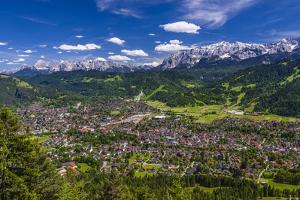 Germany, Bavaria, Upper Bavaria, Werdenfelser Land, Zugspitz Region by Udo Siebig