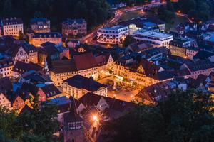 Germany, Bavaria, Upper Franconia, Kulmbach, Old Town by Udo Siebig