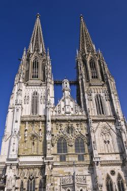 Germany, Bavaria, Upper Palatinate, Danube, Regensburg (City by Udo Siebig