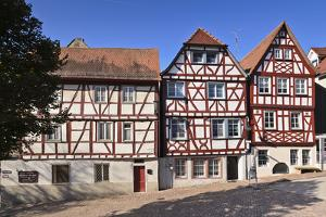 Germany, Hesse, Odenwald (Region), Bergstra§e (Region), Bensheim, Old Town by Udo Siebig