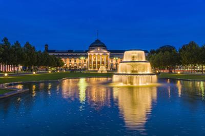 Germany, Hesse, Rheingau Region, Wiesbaden, Health Resort by Udo Siebig