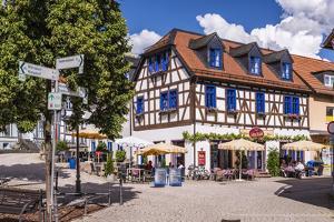 Germany, Hessen, Taunus, German Timber-Frame Road, Idstein by Udo Siebig