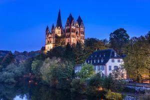 Germany, Hessen, Taunus, Lahn, Limburg Basin by Udo Siebig