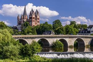 Germany, Hessen, Taunus (Region), Lahn, Limburger Becken by Udo Siebig