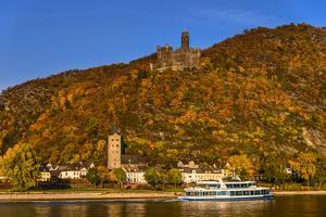 Germany, Rhineland-Palatinate, Upper Middle Rhine Valley, Sankt Goarshausen, District Wellmich by Udo Siebig