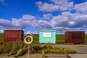 Germany, Schleswig-Holstein, North Frisia, Dageb?ll, District Harbour by Udo Siebig