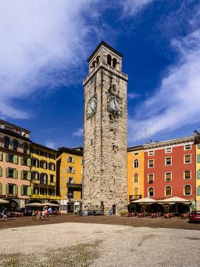 Italy, Trentino South Tyrol, Trentino, Lake Garda, Riva Del Garda, Torre Apponale by Udo Siebig