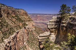 The USA, Arizona, Grand canyon National Park, South Rim, Bright Angel Trail by Udo Siebig