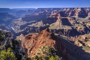 The USA, Arizona, Grand canyon National Park, South Rim, Mohave Point by Udo Siebig