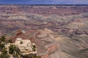 The USA, Arizona, Grand canyon National Park, South Rim, Yaki Point by Udo Siebig